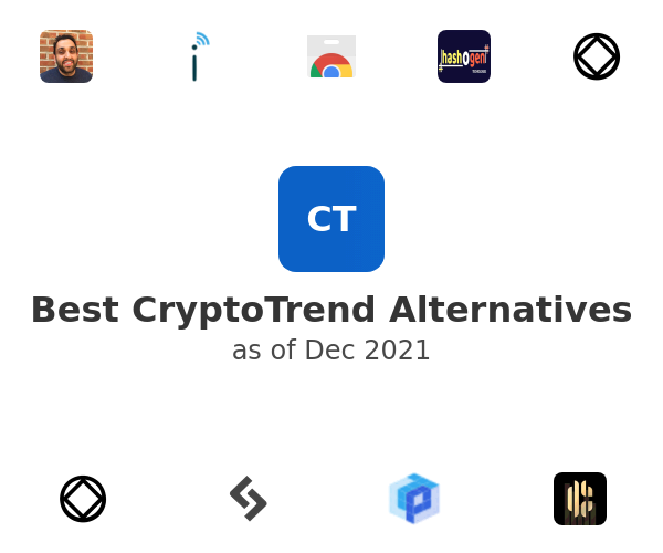 Best CryptoTrend Alternatives