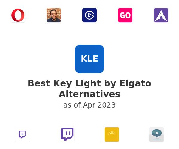 Best Key Light by Elgato Alternatives