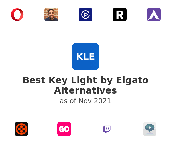Best Key Light by Elgato Alternatives