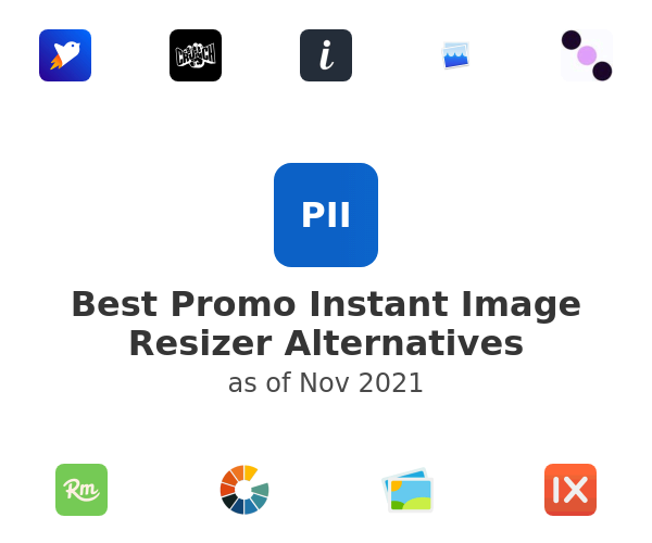 Best Promo Instant Image Resizer Alternatives