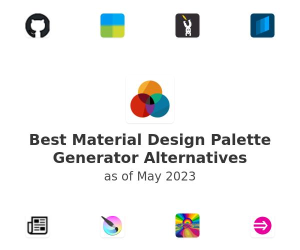 Best Material Design Palette Generator Alternatives