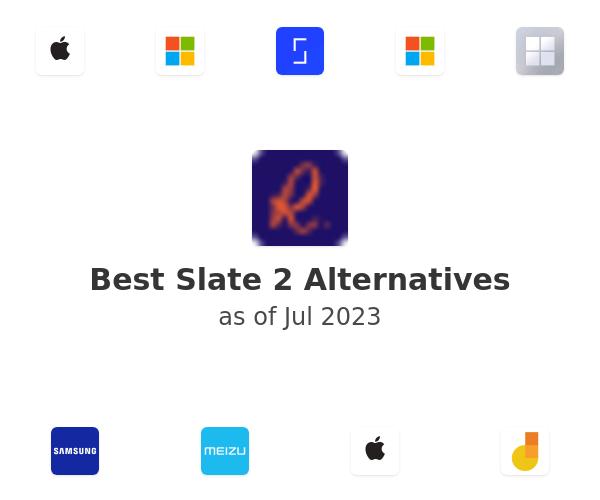 Best Slate 2 Alternatives