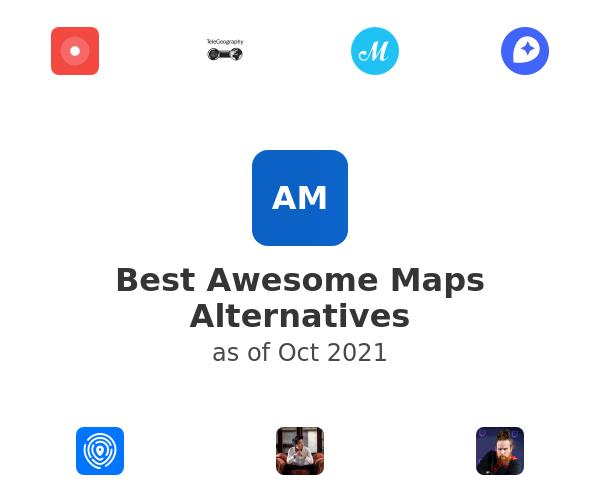 Best Awesome Maps Alternatives