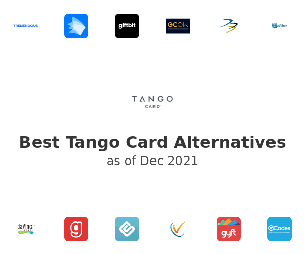 Best Tango Card Alternatives