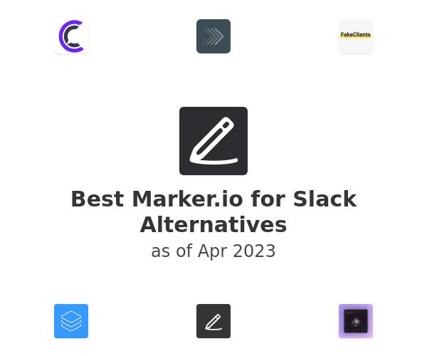 Best Marker.io for Slack Alternatives