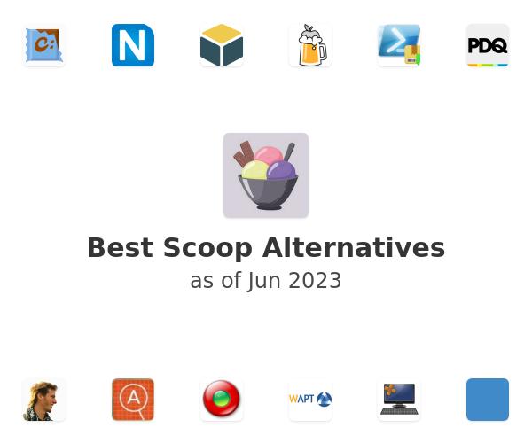 Best scoop Alternatives