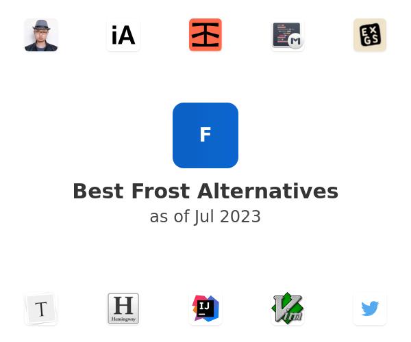 Best Frost Alternatives