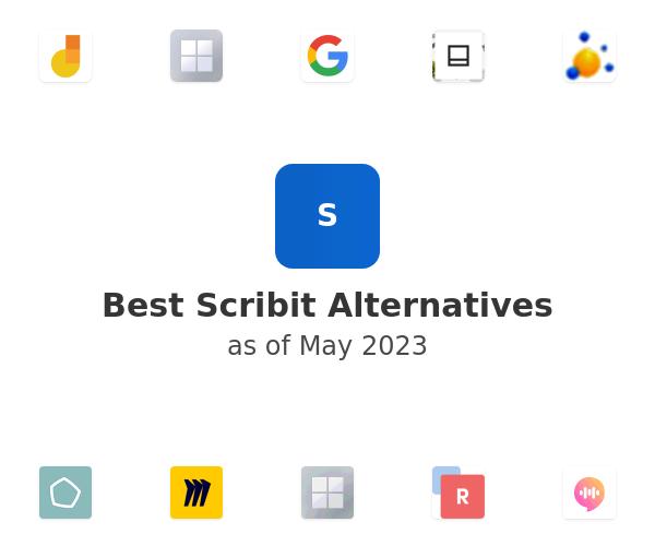 Best Scribit Alternatives