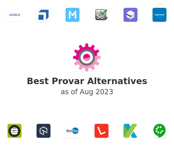 Best Provar Alternatives