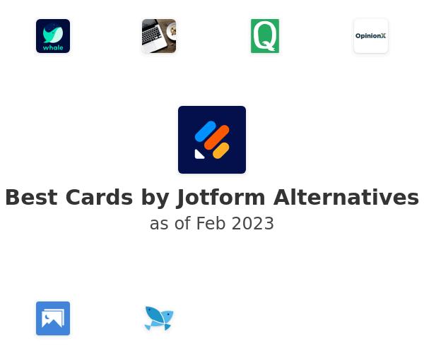 Best Cards by JotForm Alternatives