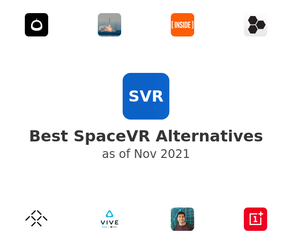 Best SpaceVR Alternatives