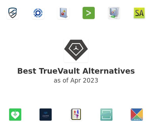 Best TrueVault Alternatives