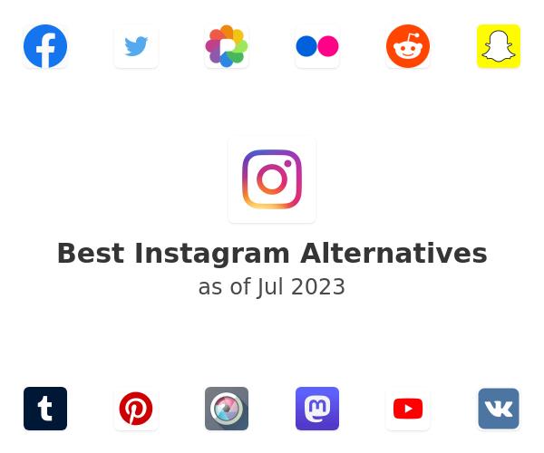Best Instagram Alternatives