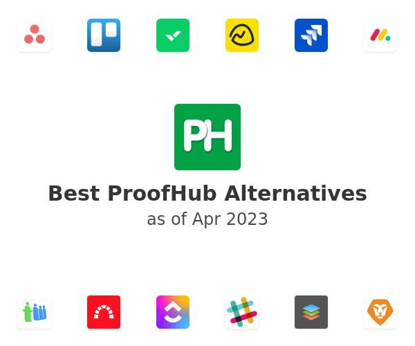 Best ProofHub Alternatives