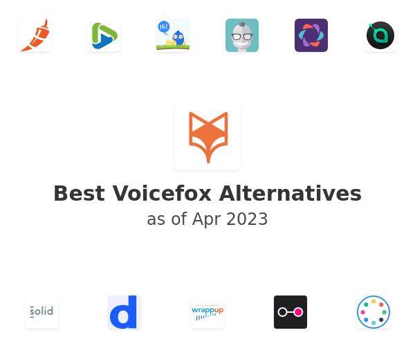 Best Voicefox Alternatives