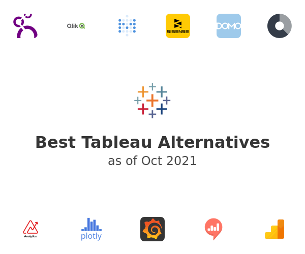 Best Tableau Alternatives