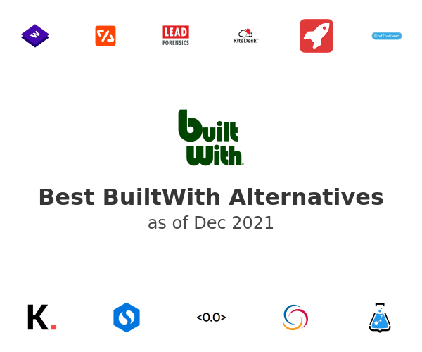 Best BuiltWith Alternatives