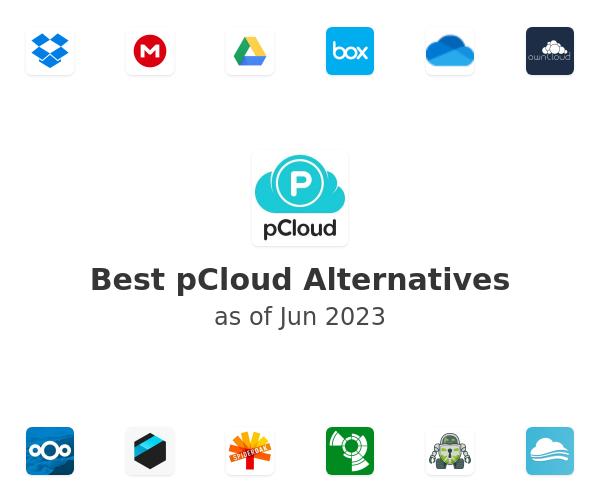 Best pCloud Alternatives