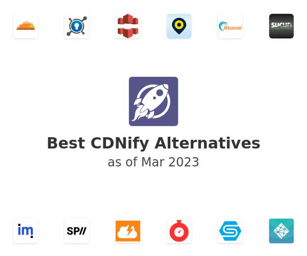 Best CDNify Alternatives