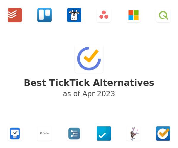 Best TickTick Alternatives
