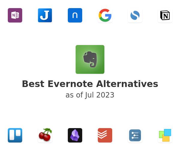 Best Evernote Alternatives
