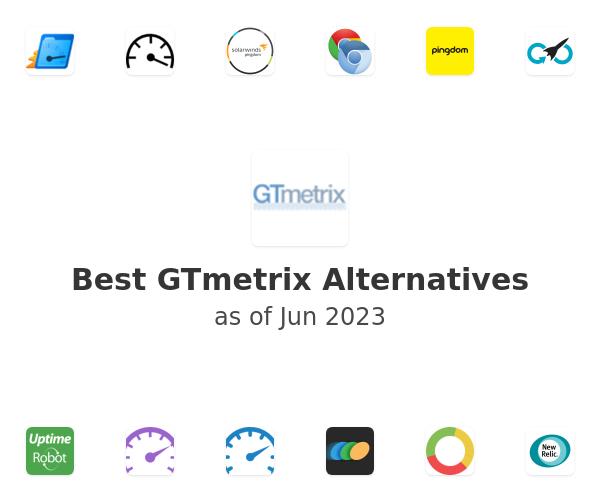 Best GTmetrix Alternatives