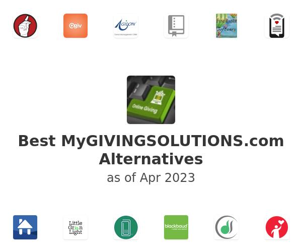 Best MyGIVINGSOLUTIONS.com Alternatives