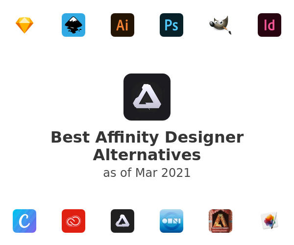 Best Affinity Designer Alternatives