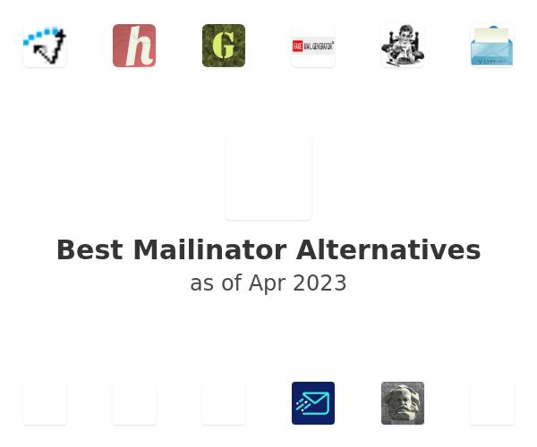 Best Mailinator Alternatives