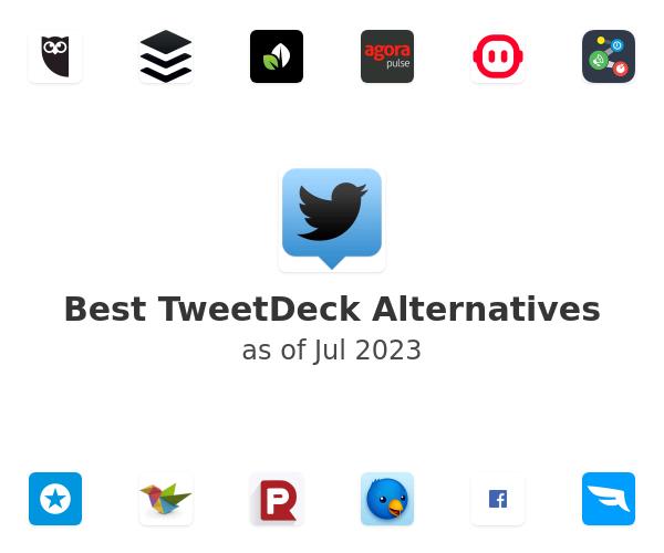 Best TweetDeck Alternatives