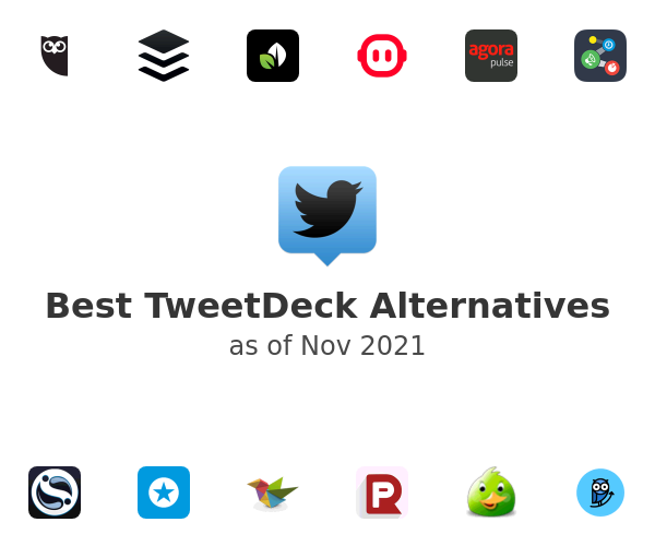 Best TweetDeck Alternatives