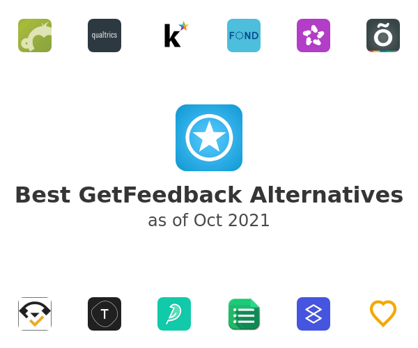 Best GetFeedback Alternatives