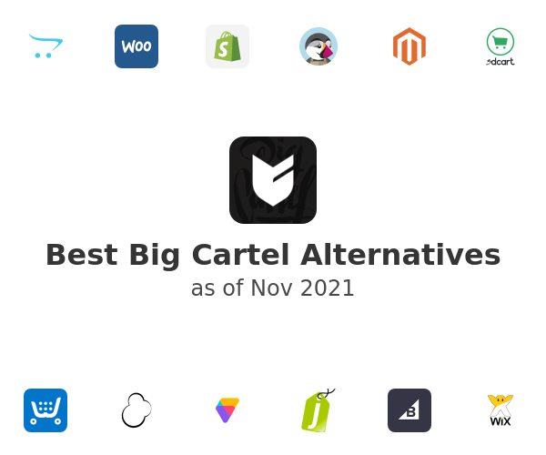 Best Big Cartel Alternatives