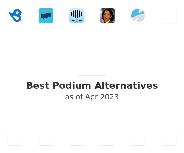 Best Podium Alternatives