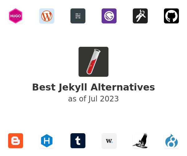 Best Jekyll Alternatives