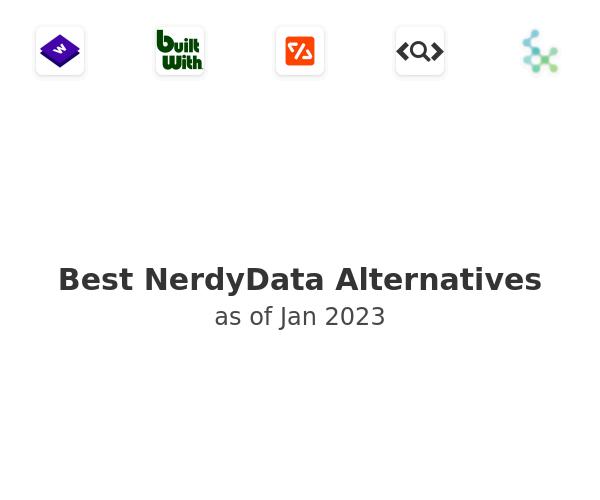 Best NerdyData Alternatives