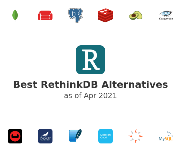 Best RethinkDB Alternatives