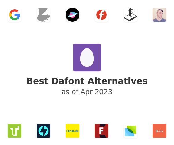 Best Dafont Alternatives