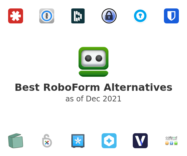 Best RoboForm Alternatives