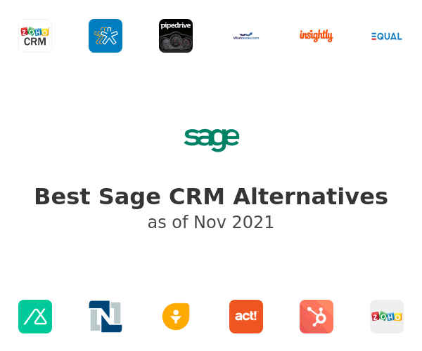 Best Sage CRM Alternatives