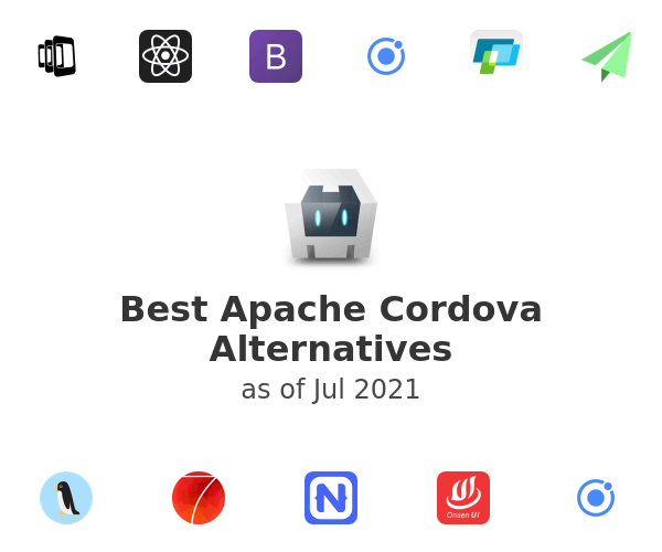 Best Apache Cordova Alternatives