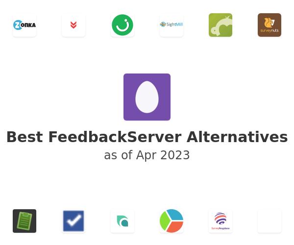 Best FeedbackServer Alternatives
