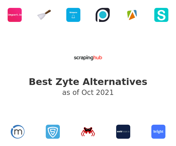 Best ScrapingHub Alternatives