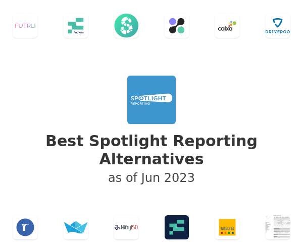 Best Spotlight Reporting Alternatives