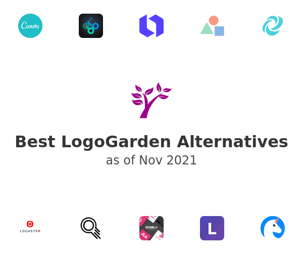 Best LogoGarden Alternatives