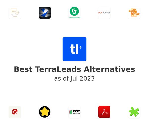 Best TerraLeads Alternatives
