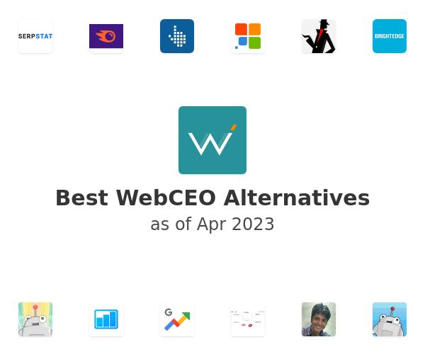 Best WebCEO Alternatives