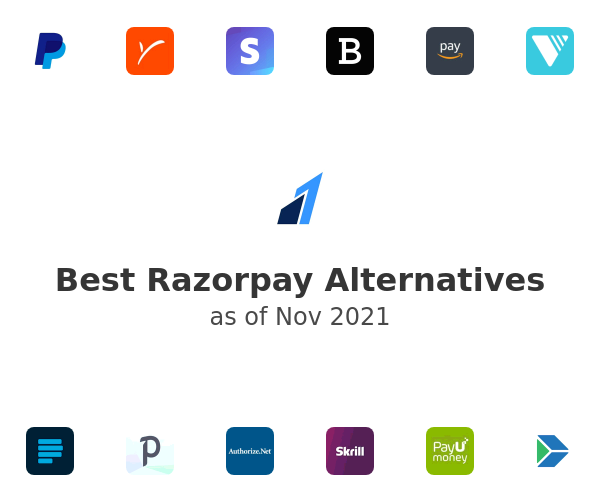 Best Razorpay Alternatives