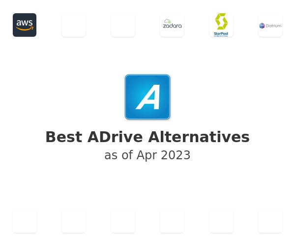 Best ADrive Alternatives