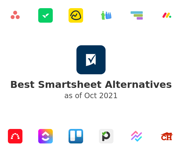 Best Smartsheet Alternatives